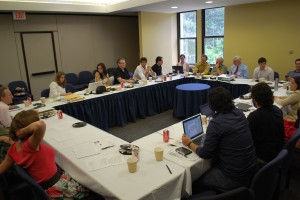 """""""Participation and Representation in Latin America"""" workshop at American University"""