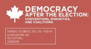 Democracy after the election – Oct. 15th