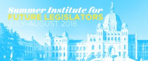 Summer Institute for Future Legislators 2018