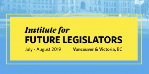 Institute for Future Legislators 2019