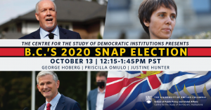 B.C.'s 2020 Snap Election